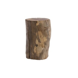 Chamcha Wood Accent Stool by Phillips Collection