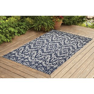 Starnes Navy Indoor/Outdoor Area Rug