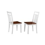 Maryjane Solid Wood Dining Chair (Set of 2) by August Grove®