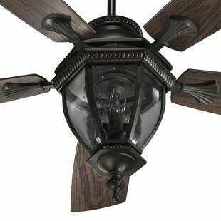 Deals 52 Winn 5-Blade Patio Ceiling Fan By Fleur De Lis Living