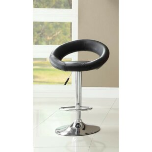 Giono Adjustable Height Swivel Bar Stool ..