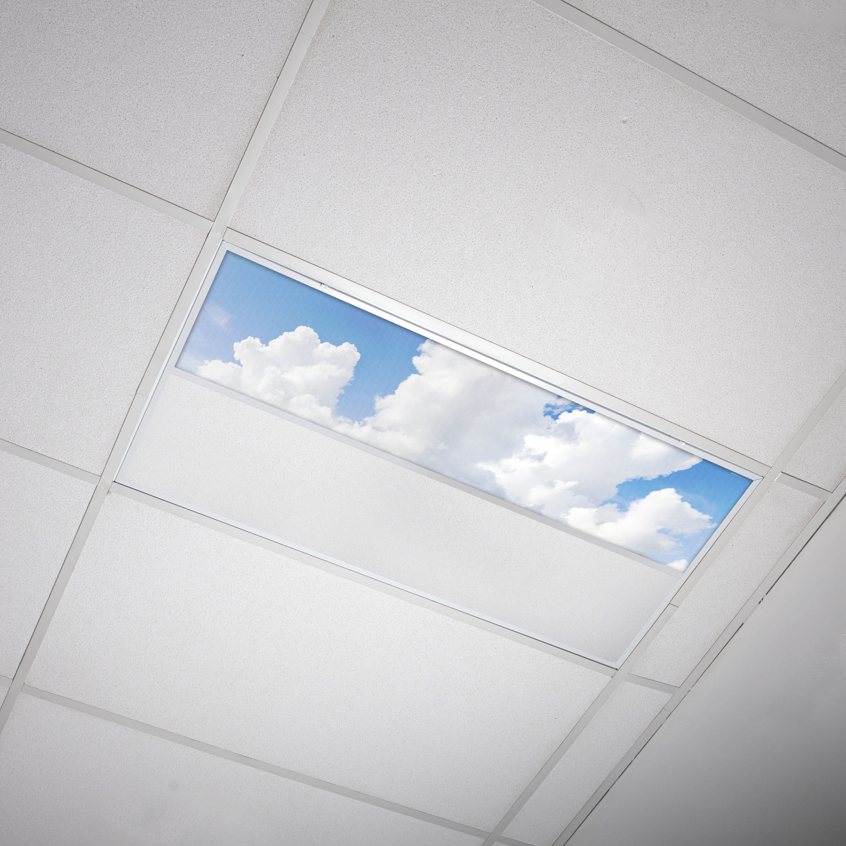 Octo Lights Fluorescent Light Covers Flexible Ceiling Light Diffuser Panels Decorative Clouds For Classrooms And Offices 015 Wayfair Ca
