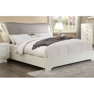Hassan Upholstered Sleigh Bed