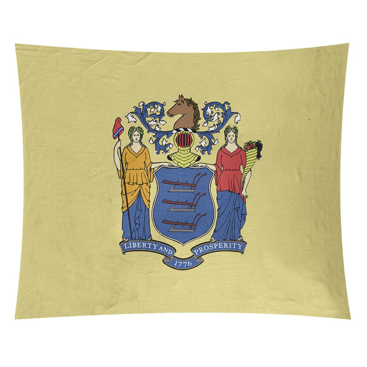 Winston Porter Enrik New Jersey Flag Tapestry Wayfair
