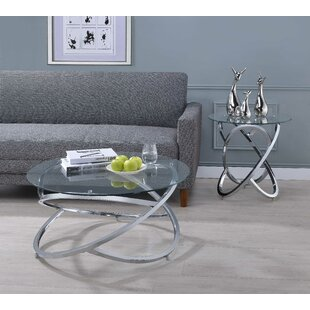 Orren Ellis Presidio 2 Piece Coffee Table Set