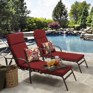 Texture Outdoor Chaise Lounge Cushion