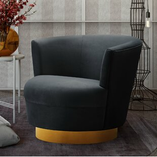 Langridge Swivel Barrel Chair