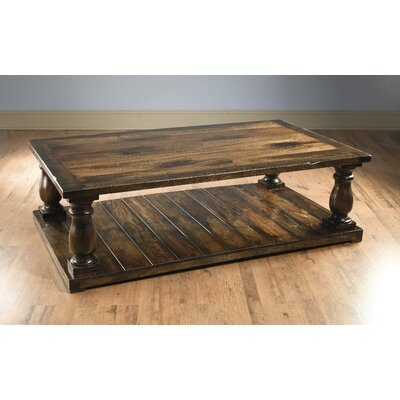 Foundry Select Dickens Four Column Coffee Table