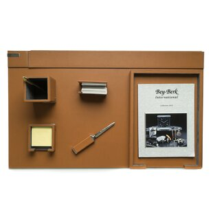 Bey-Berk 6 Piece Desk Set