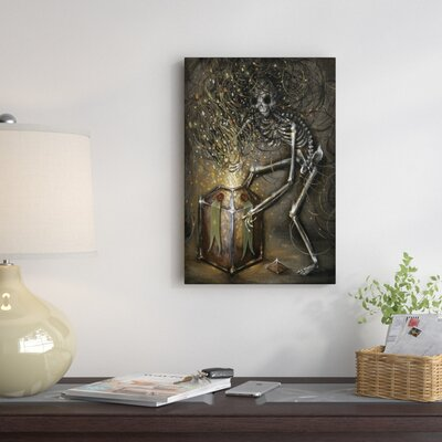 0 Painting on Wrapped Canvas East Urban Home Size 60 H x 40 W x 15 D
