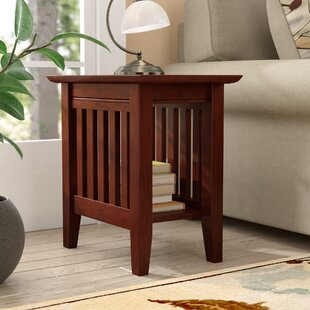 Find Caples End Table By Three Posts