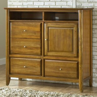 Loon Peak Pittsburg 4 Drawer Combo Dresser