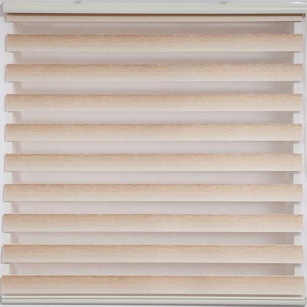 Upscale Designs By Ema Zebra Blackout Striped Roller Shade