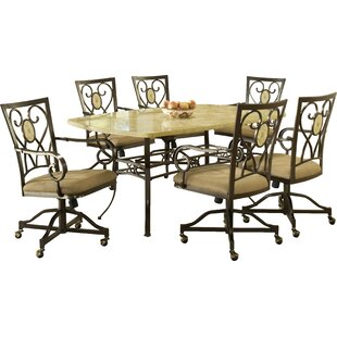 Boundary Bay 7 Piece Dining Set Red Barrel Studio