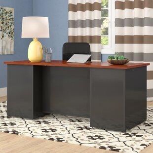 Red Barrel Studio Castalia L-Shape Executive Desk