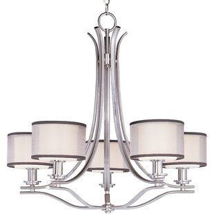 Darby Home Co Houseknecht 5-Light Shaded Chandelier