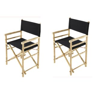 Buyers Choice Phat Tommy Folding Director Chair (Set of 2)
