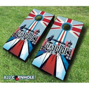 AJJ Cornhole 10 Piece English ..