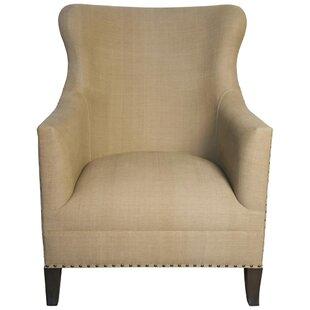 Sara Wingback Chair by Noir