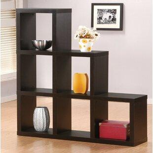 Ebern Designs Gingras Wooden Cube Unit Bookcase
