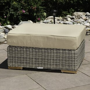 Corsica Ottoman With Cushion by Madbury Road Today Only Sale