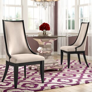 Bonifácio Upholstered Dining Chair (Set of 2) Willa Arlo Interiors