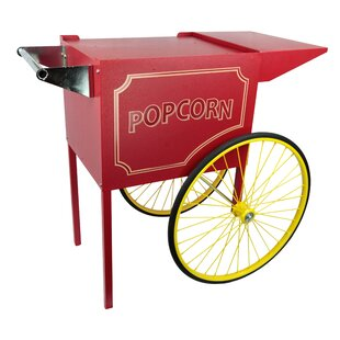Rent A Pop Medium Popcorn Cart by Paragon International Modern