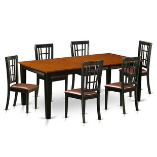 Pilger 7 Piece Extendable Dining Set August Grove