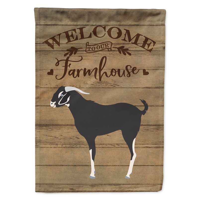 Caroline S Treasures Welcome 2 Sided Polyester 40 X 28 In House Flag Wayfair