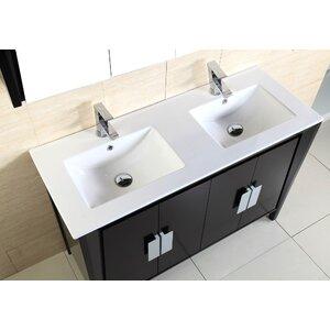 48 in double sink vanity. Eodem Modo 48 Double Sink Vanity By Bellaterra Home