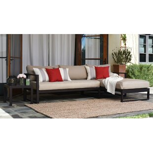Serta at Home Catalina Outdoor Right Arm Sectional Piece with Cushions