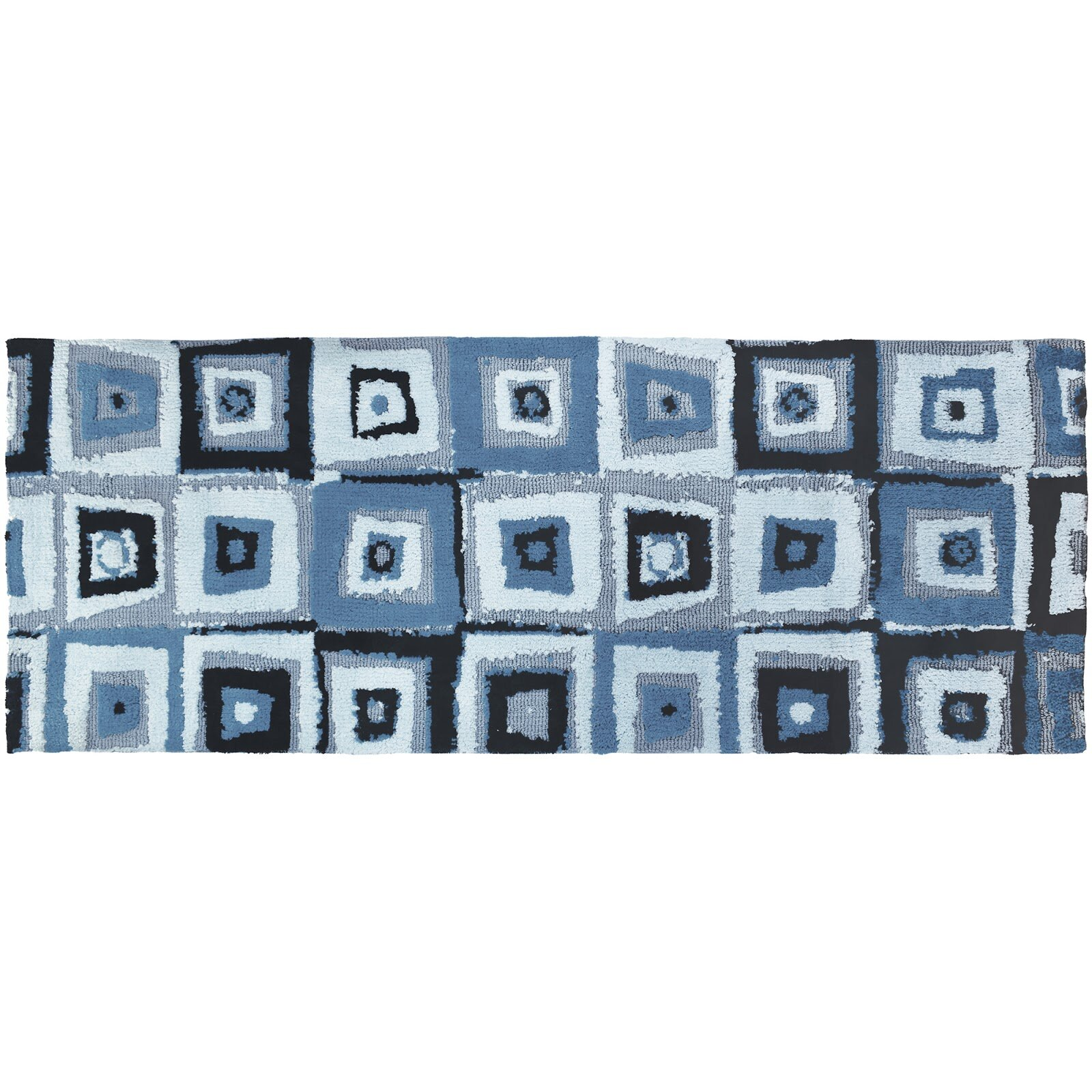 Wrought Studio Lennie Blue Area Rug Wayfair
