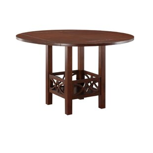 Parkwoods Counter Height Solid Wood Dining Table Winston Porter