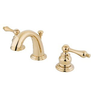 Compare & Buy English Country Widespread faucet Bathroom Faucet with Drain Assembly ByKingston Brass