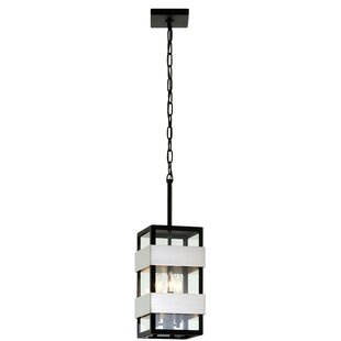 Compare prices Earls 3-Light Outdoor Hanging Lantern By 17 Stories