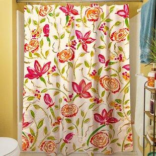 Best Review Julia's Fancy Shower Curtain ByManual Woodworkers & Weavers