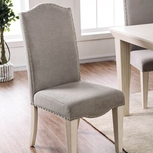 Affordable Taya Upholstered Dining Chair (Set of 2) by One Allium Way