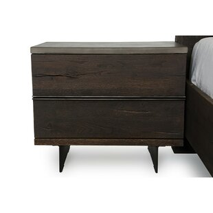 Saugus 2 Drawer Nightstand