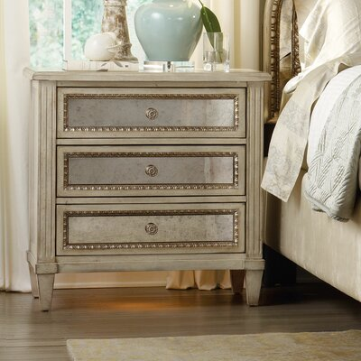 Sanctuary 3 Drawer Bachelor s Chest  by Hooker Furniture Bedroom Wayfair