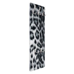 Snow Leopard Wall Mounted Coat Rack By Symple Stuff