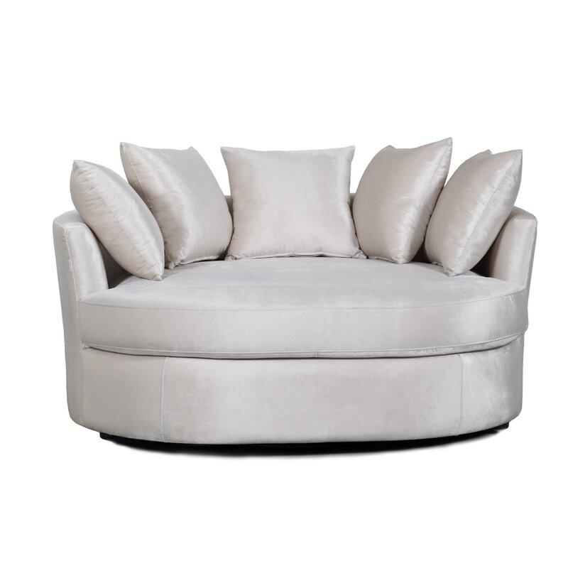 Verano Swivel Barrel Chair
