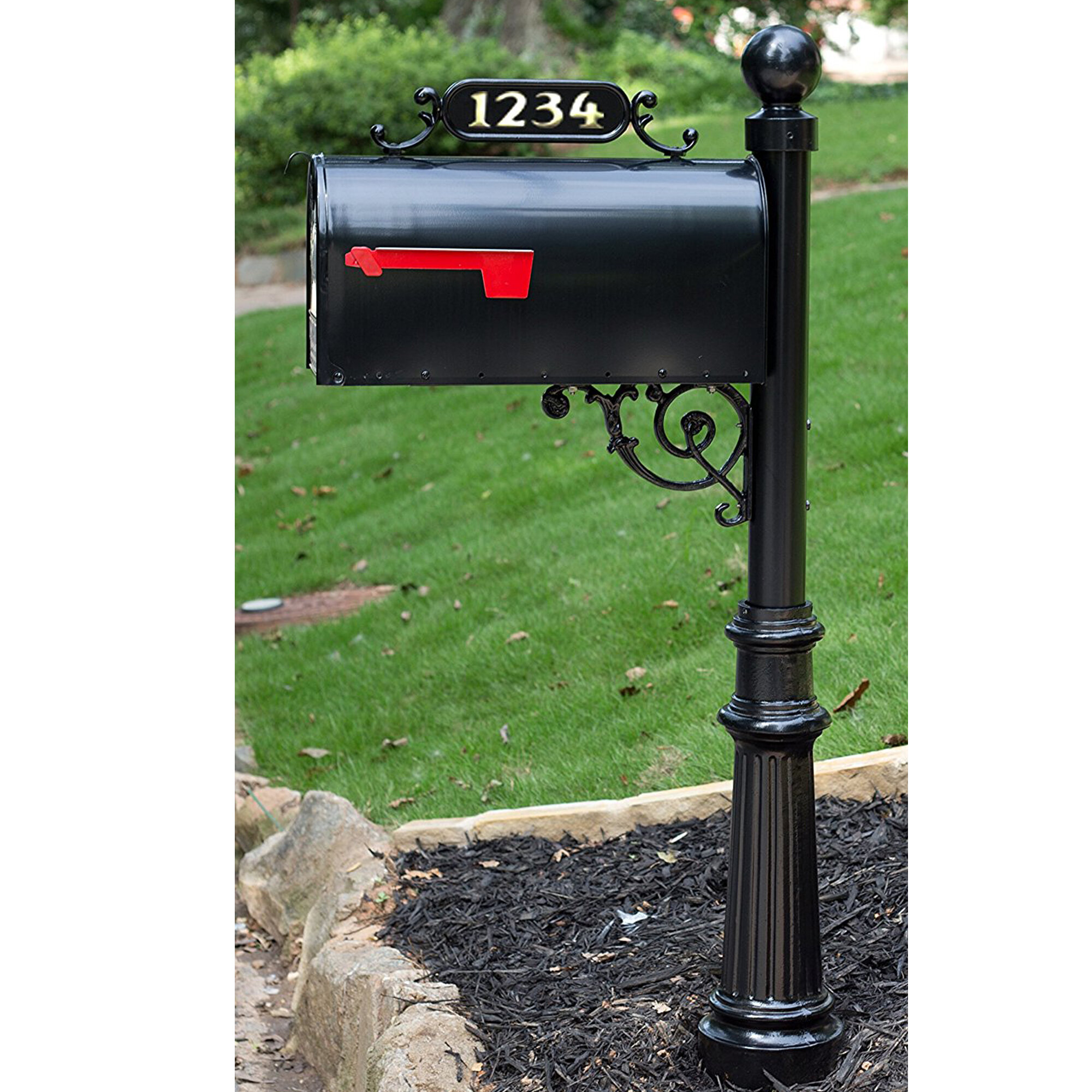 1 Addresses Of Distinction Mailboxes You Ll Love In 2021 Wayfair