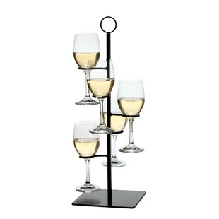 Gary Flight Server 5 Bottle Tabletop Wine Rack Cool
