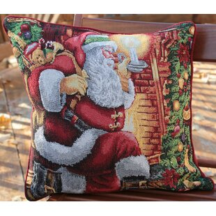 Santa Decorative Throw Pillow Cover