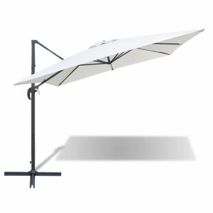 Roma 2.5m Square Cantilever Parasol By Freeport Park