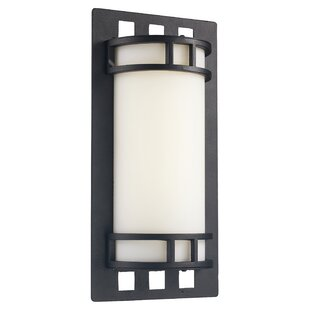 Check Prices Mackenzie 1-Light Outdoor Sconce By Latitude Run
