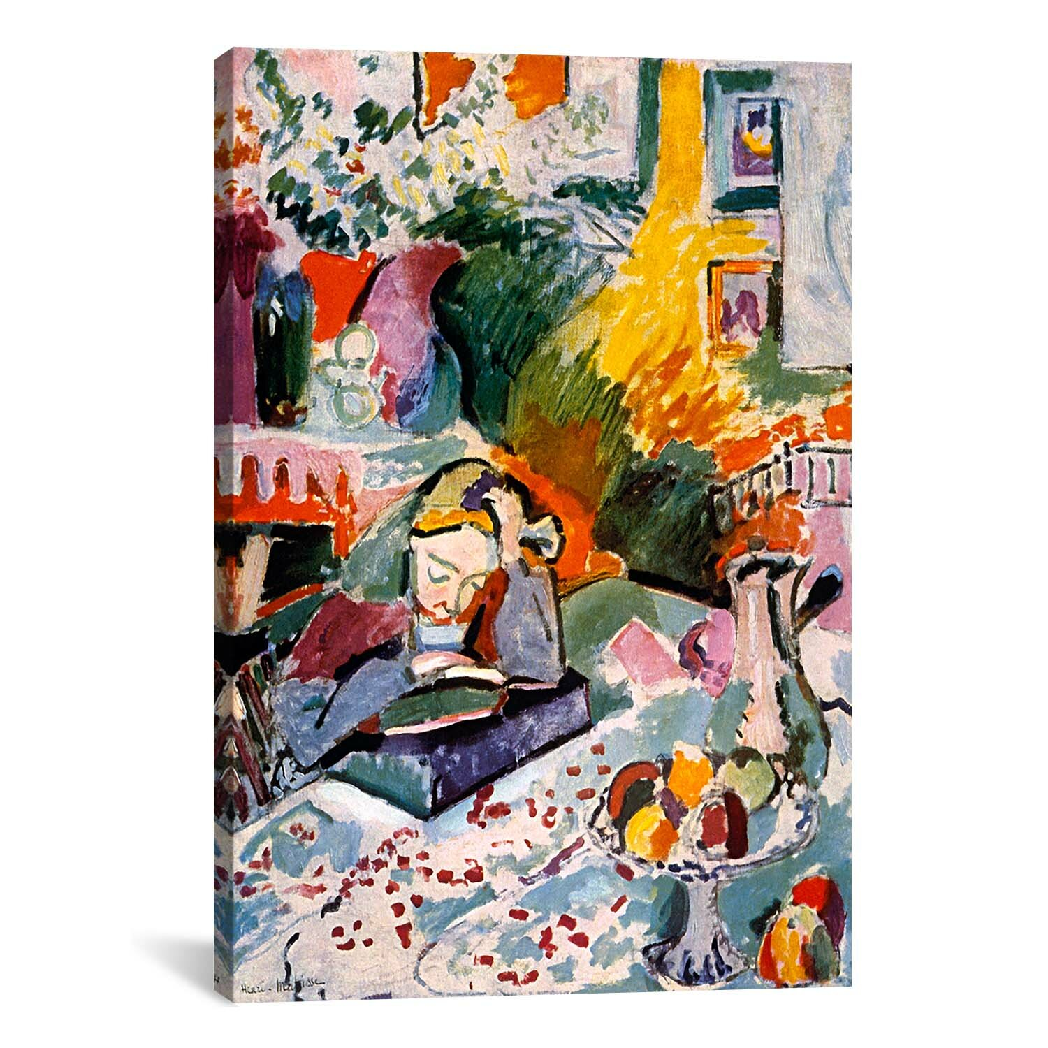36ff5ba5191 East Urban Home  Interior with a Young Girl (1906)  by Henri Matisse Print    Reviews