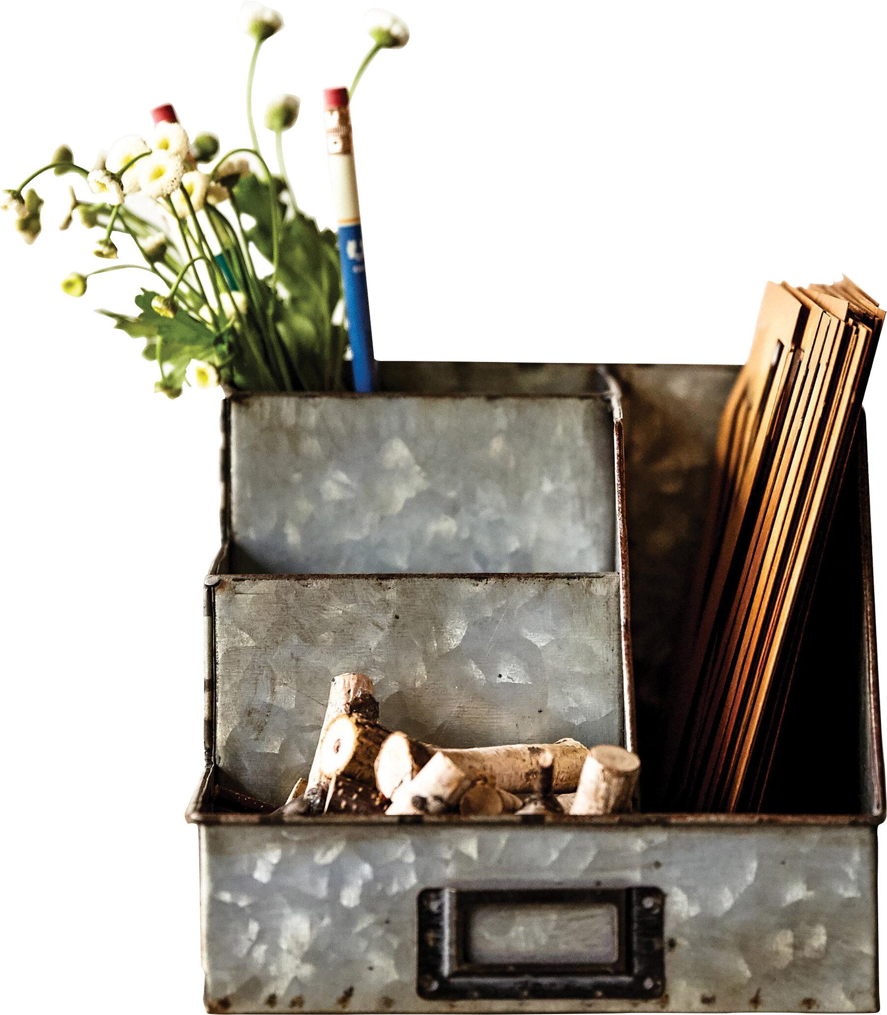 Laurel Foundry Modern Farmhouse Selim Desk Supplies Organizer Reviews
