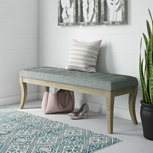 Elspeth Upholstered Bench by One Allium Way