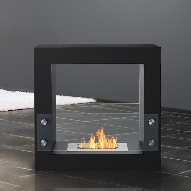 Ignis Tectum Mini Ventless Bio Ethanol Tabletop Fireplace U0026 Reviews |  Wayfair